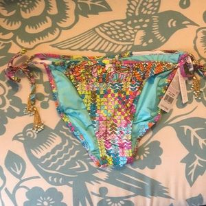 2d45694b19c04 Trina Turk Swim | Sale Nwt Coral Reef Sidetie Bikini | Poshmark